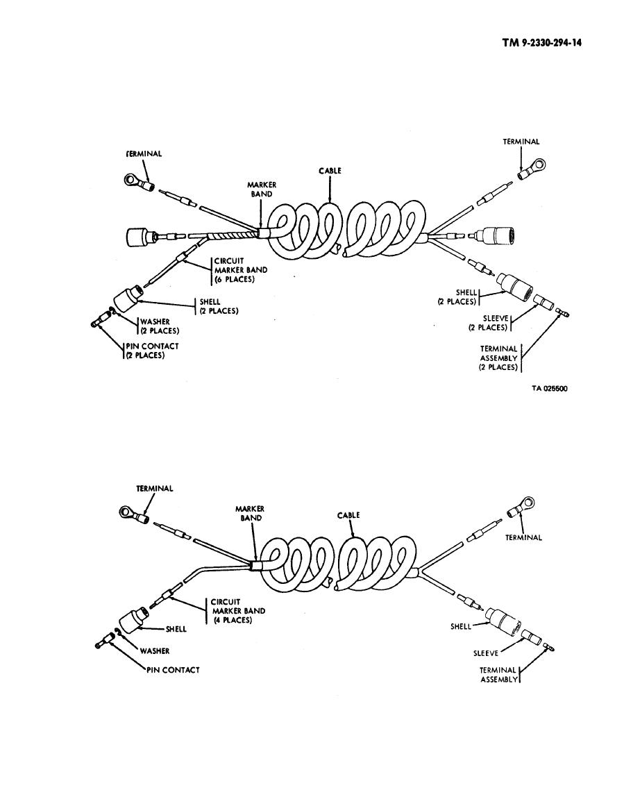 Figure 4 15 Clearance Marker Light Wiring Harness Semitrailer No Diagram 1 Through 200