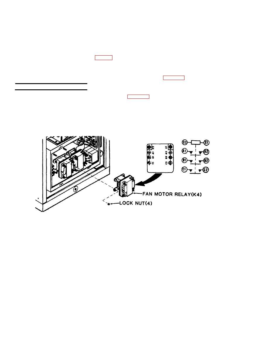 fan motor relay  k4