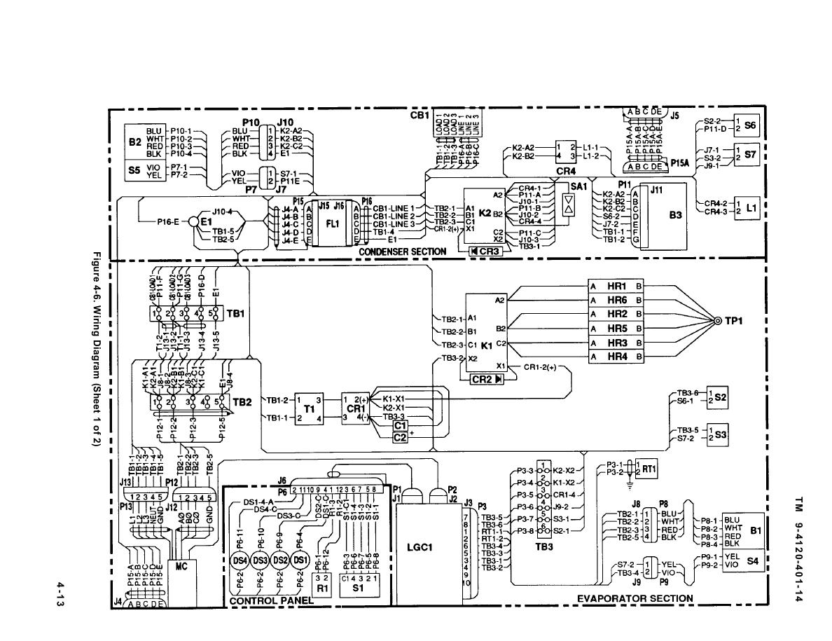 230 volt 3 phase wiring diagram images installation instructions continued tm 9 4120 401 140054