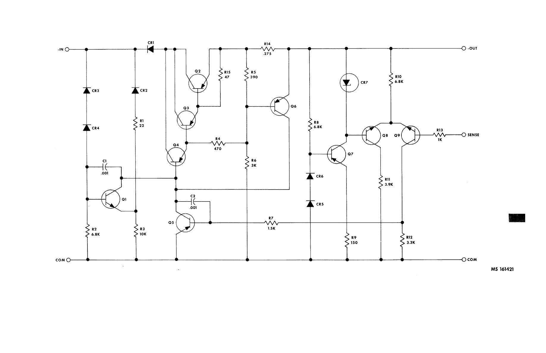Figure 4 68 Negative Voltage Regulator 10275398 Schematic Diagram Wiring Car